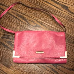 Michael Kors pink bag- like new!